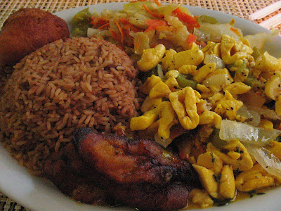 What 39 s to eat l a ackee bamboo jamaican cuisine it for Ackee bamboo jamaican cuisine