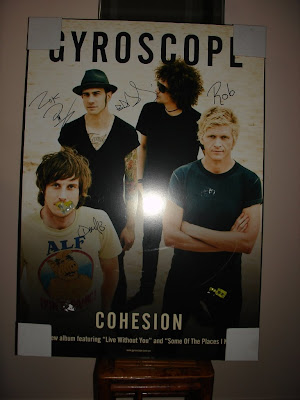Autographed Gyroscope Poster
