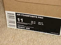 Nike Air Foamposite Pro - Pearl Colour scheme
