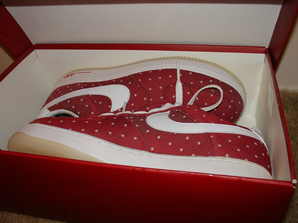 Ric On The Go Valentines AF 1s