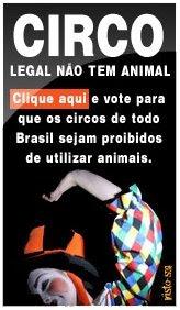 imagens ASSINE, circo legal não tem animal