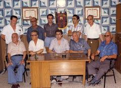 FUNDADORES PEÑA BARCELONISTA DE ALMANSA