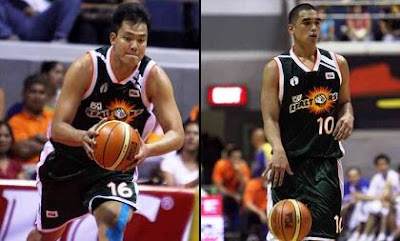 Dennis Espino and Ryan Reyes
