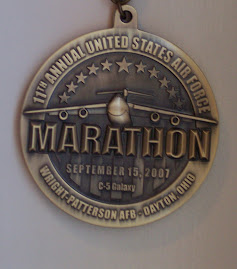 Air Force Marathon medal