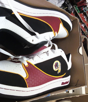 Great My Lowly Washington Redskins Are Doing So Poorly This Season, Even Their  Shoes Are At