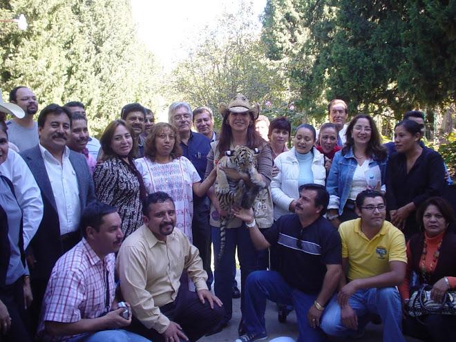 Visita de Maestros del taller de Ciencias Naturales