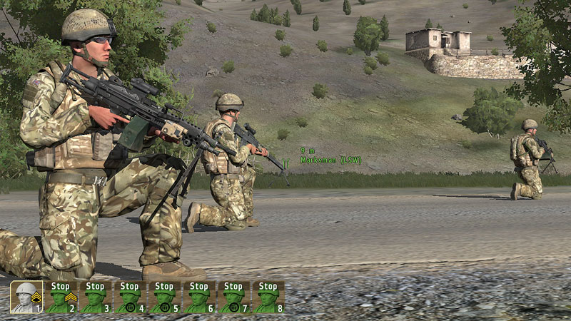 Coalition warfare starts at the fictional 'Stan of ArmA 2 Operation Ar