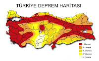 Türkiye Deprem Haritası, Türkiye Fay Hattı