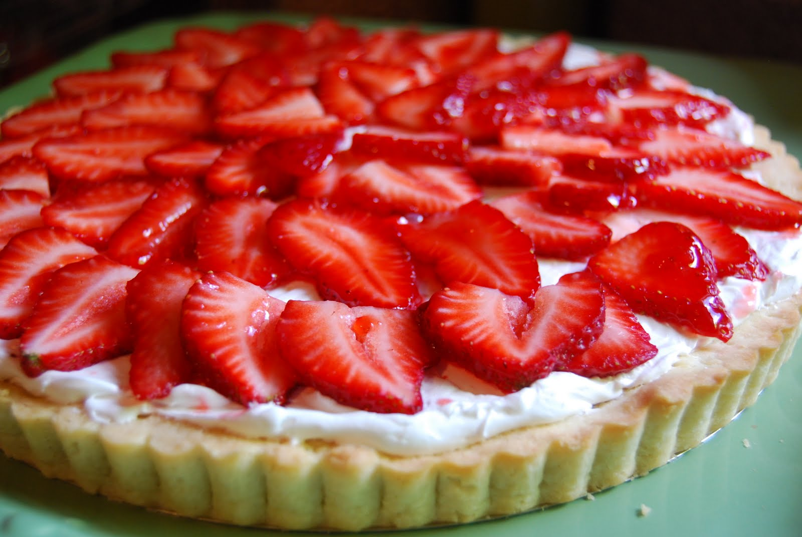 Gather Round Our Table: Strawberry Tart
