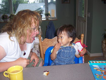 Maya..and Irene thinks she doesn't eat!