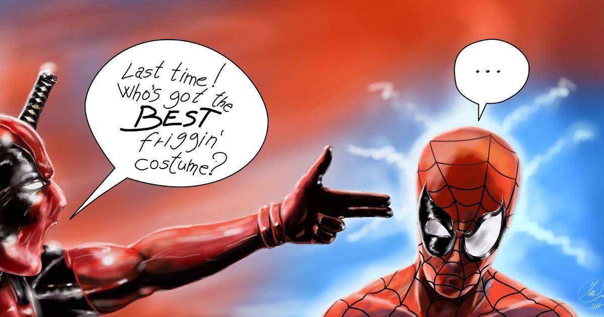 Utopia Studio Deadpool Vs Spider Man