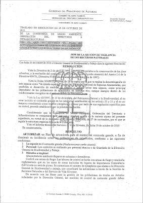 Comienza la matanza de Cormoranes ResolucionCormoran_2010_Page_1