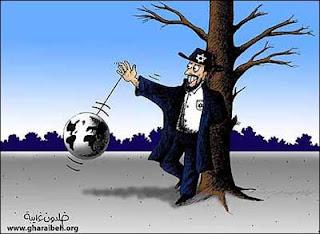 slaaf boeien cartoon