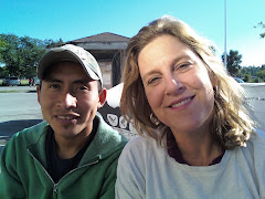 Ms. Allen in Florida with Leonel, Staff Member from the Coalition of Immokalee Workers