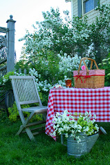 My country garden picnic