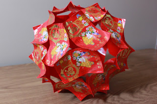 money gifts: chinese lanterns , video tutorial