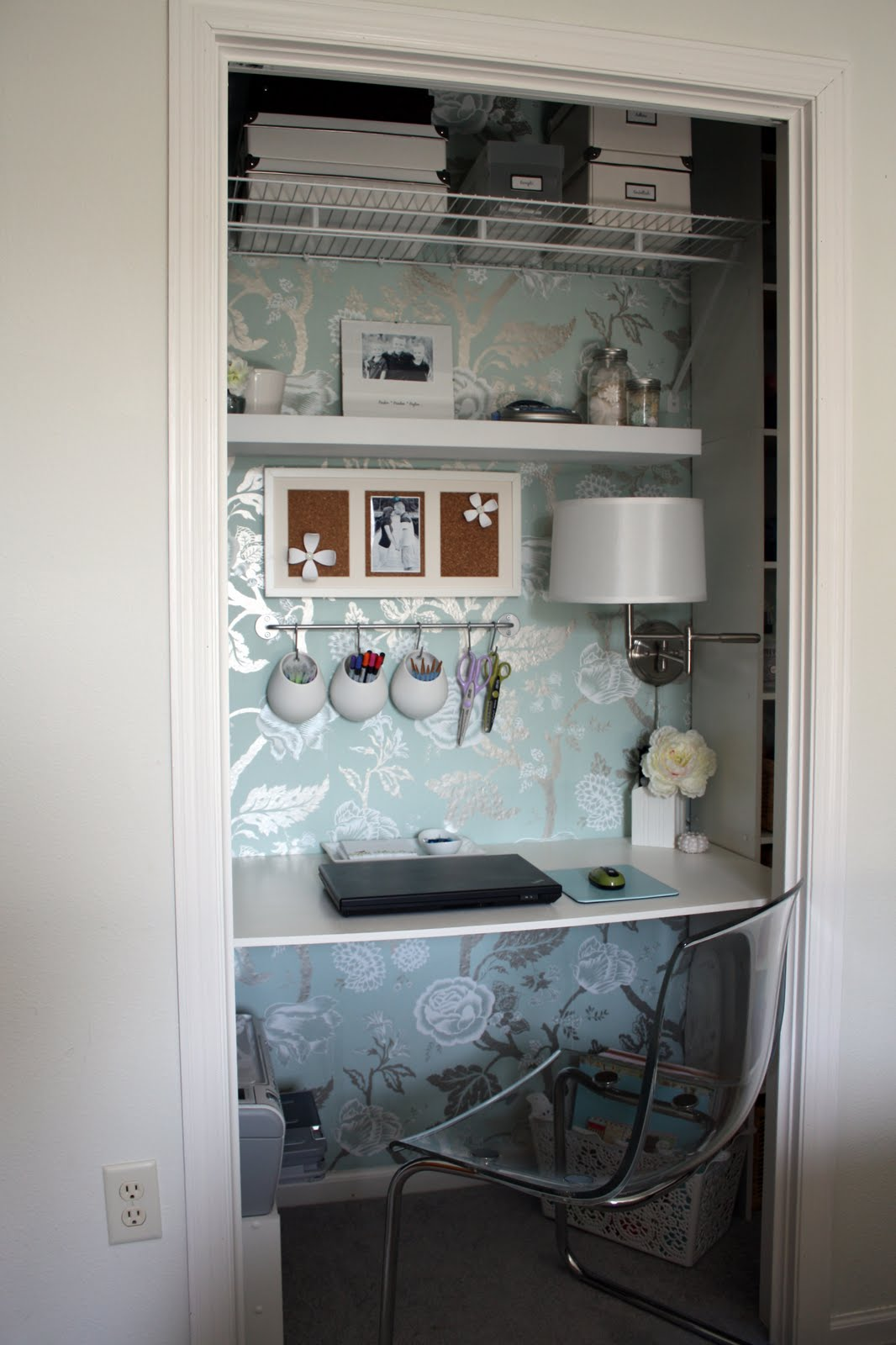 Iheart organizing september featured space bedroom conquering closets part 4 Closet home office design ideas