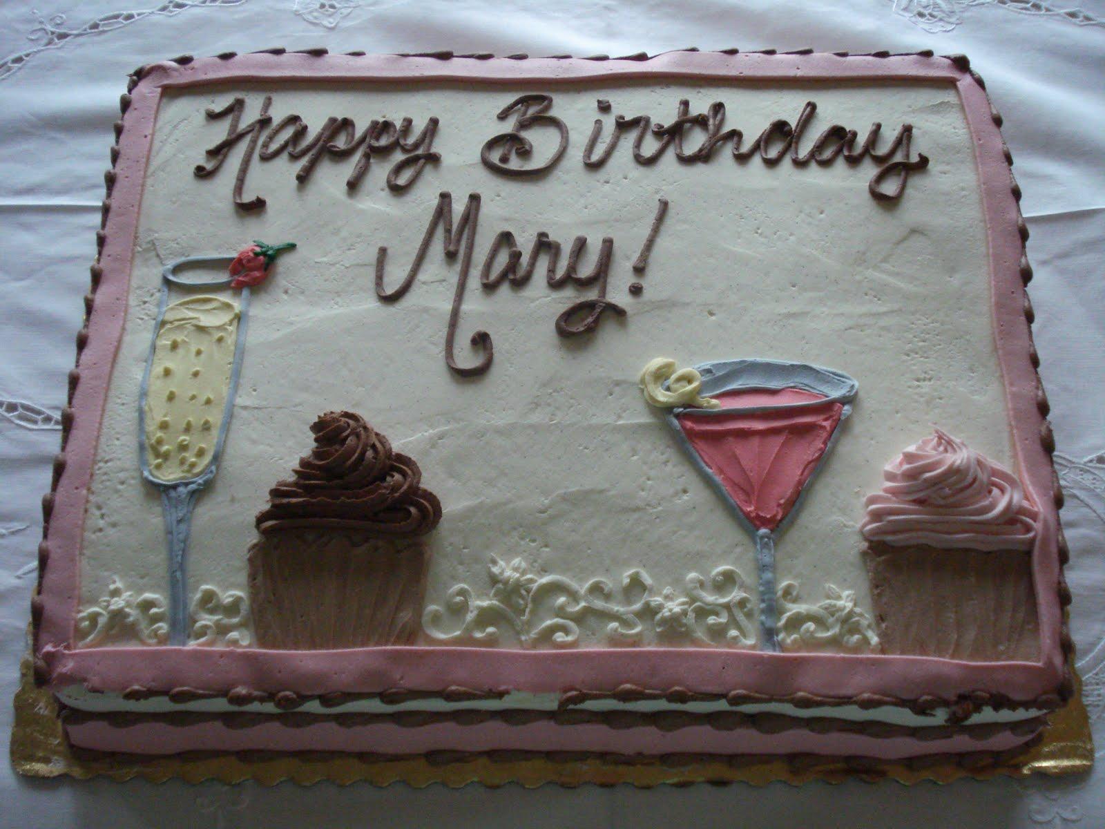 Happy Birthday Mary
