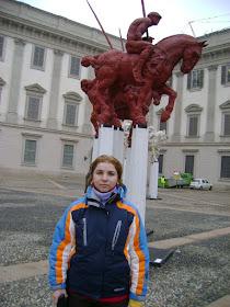 la PALAZZO REALE, MILANO, ITALIA