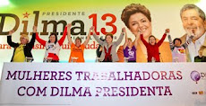 Trabalhadoras com Dilma