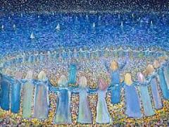 El amor espiritual se abre a todos y a todo, con la misma intensidad y de la misma manera.