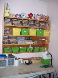 Craft room organization!