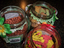Dog treat jars