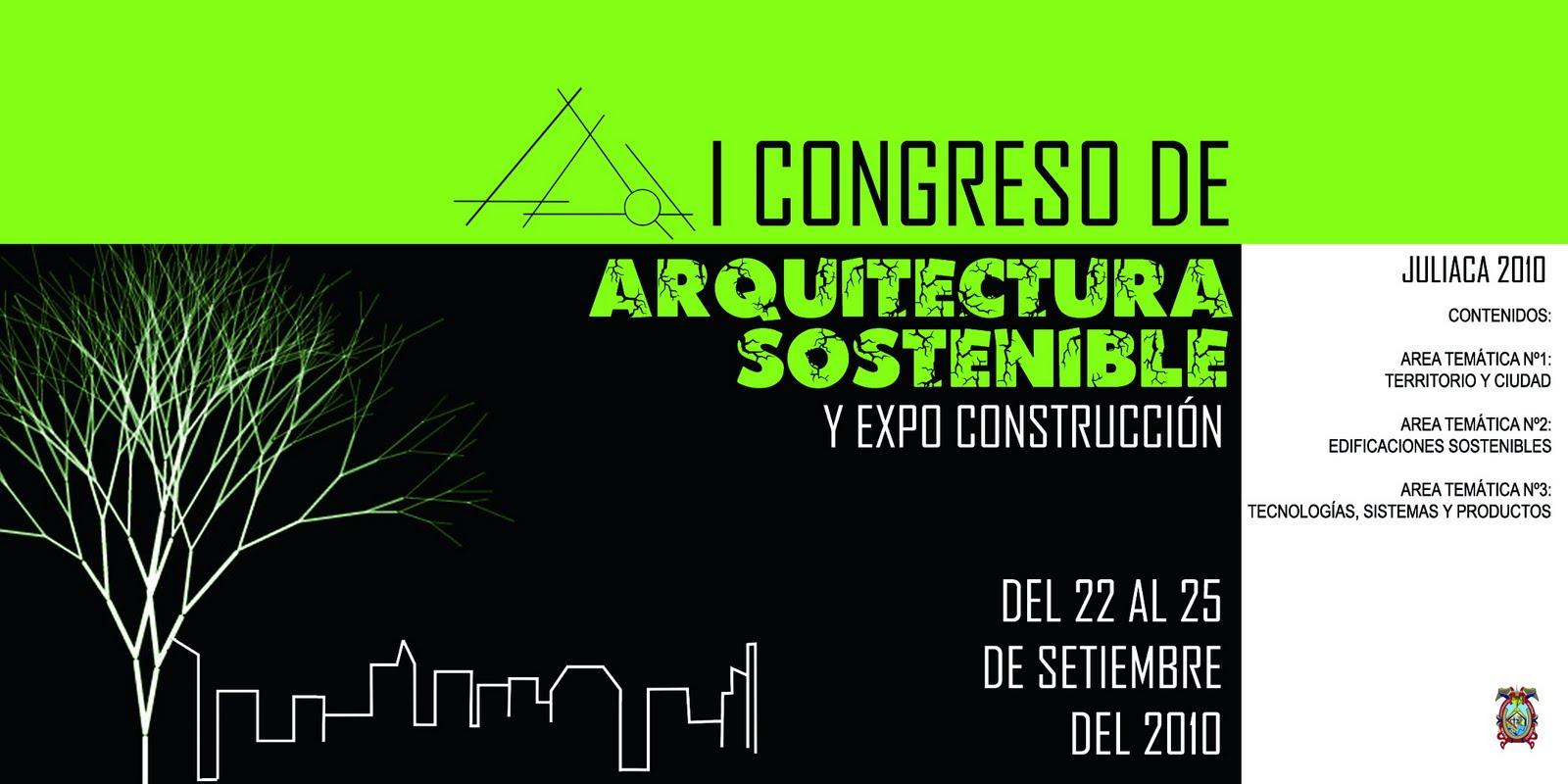 Arquitectura urbanismo y construccion i congreso de for Paginas de construccion y arquitectura