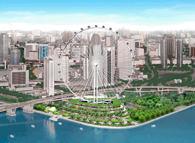 World Largest Observation Wheel Opens