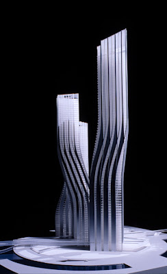 Dubai Dancing towers