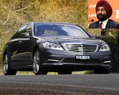 Malvinder Singh 's Car
