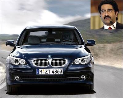Kumar Birla 's Car