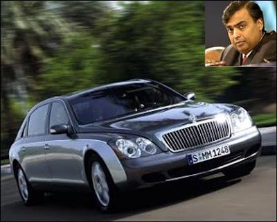 Mukesh Ambani's Car