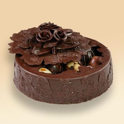 Amazing Chocolates With Chocolate Box