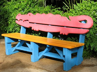 Alligator Bench
