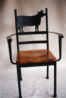 Cow Chair Back Rest