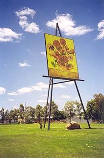 Van Gogh Giant easel
