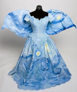 Van Gogh Starry Night Fairy Gown