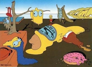 Dali style Simpsons