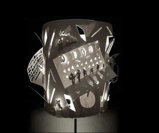 Paper cut Lampshade