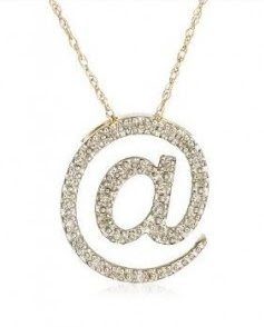 Diamonds strudel pendant