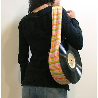 Recycled Vynil Records Bag