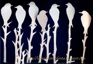 birds Paper Sculptures