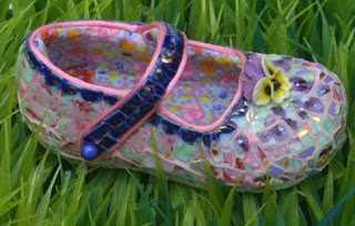 Mosaic Children Shoes by Candace Bahouth