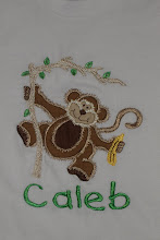 SMD Monkey applique