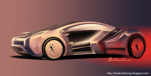 Future Electric Sport Car