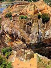 The Lion Rock Sigiriya, Sri Lanka