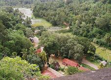 A downhill view at Mulkirigala Rock Temple, Sri Lanka