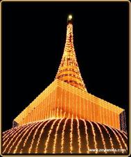 Buddhist Stupa at Kalutara, Sri Lanka