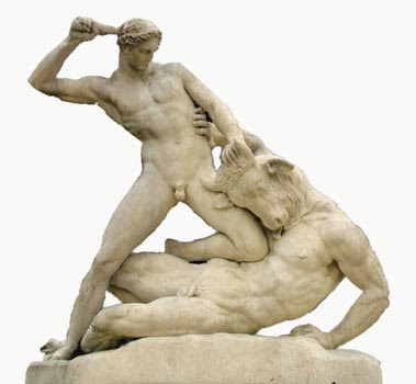 The Oracle and The Muse: ARTFUL THURSDAY: Many Shades of Minotaur ...